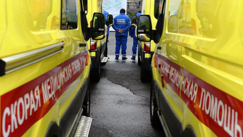 Семь человек пострадали в ДТП с автобусом в Петербурге