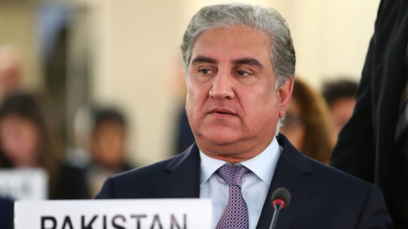 В Пакистане заявили, что Иран готов к диалогу со странами региона