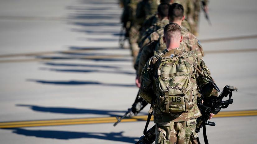 Пентагон подтвердил, что не намерен выводить свои войска из Ирака