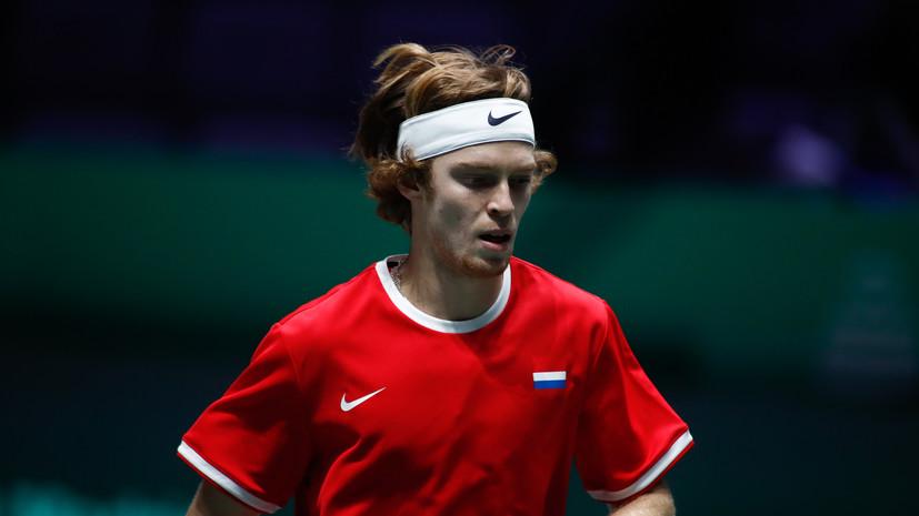 Рублёв обыграл Харриса и выиграл турнир АТР в Аделаиде
