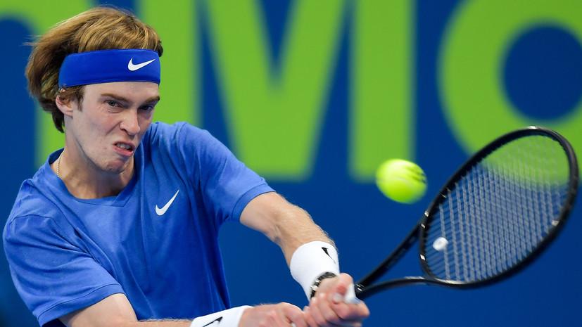Рублёв заявил, что у него хватит сил на Australian Open
