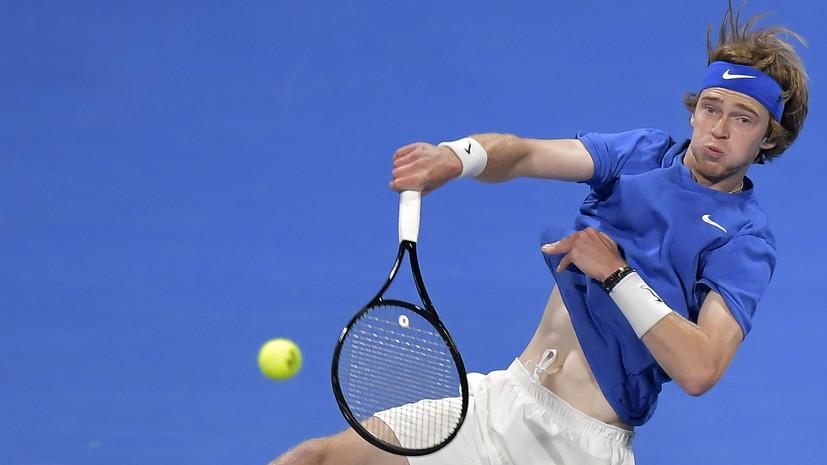 Камельзон назвал уникальной работу ног теннисиста Рублёва