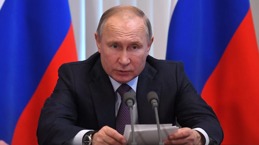 Путин назвал выступающих против господдержки семей «моральными уродами»