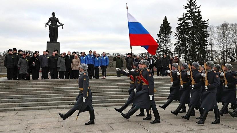 В Петербурге почтили память погибших в блокаду Ленинграда