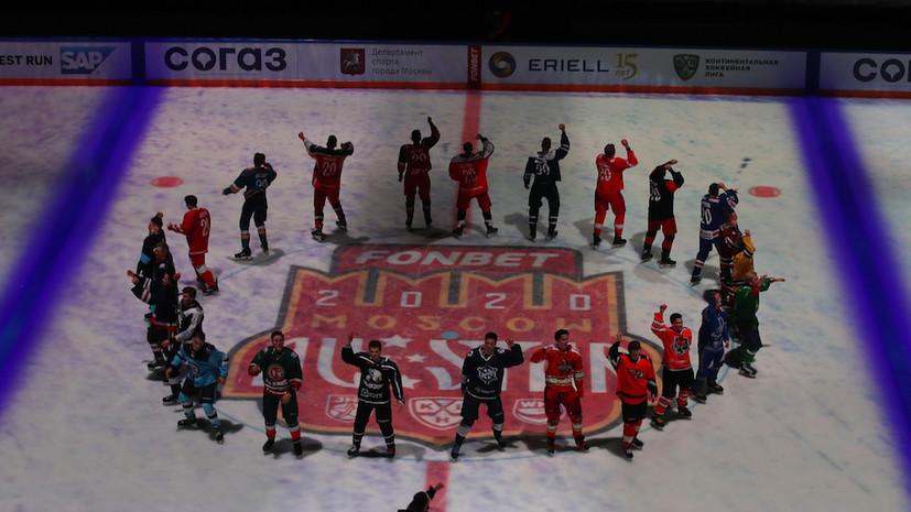 Дивизион Тарасова победил в конкурсе «Круг на скорость» в Матче звёзд КХЛ