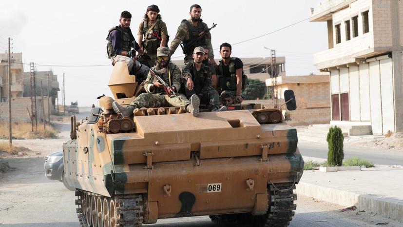 ЦПВС сообщил о новых атаках боевиков на армию Сирии