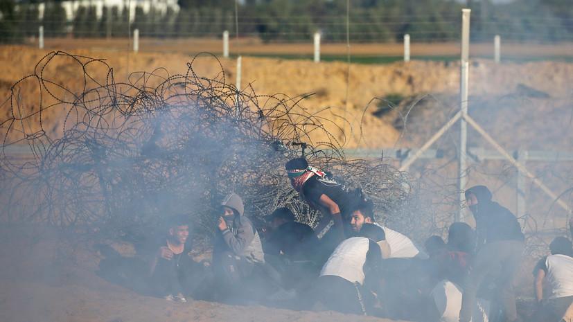 Палестинец погиб при взрыве мины в приграничной зоне сектора Газа