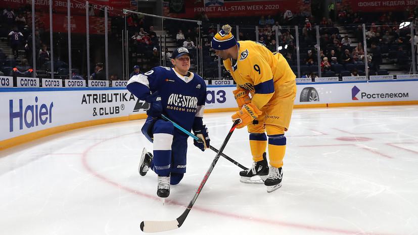 Команда дивизиона Харламова одержала победу в мастер-шоу КХЛ