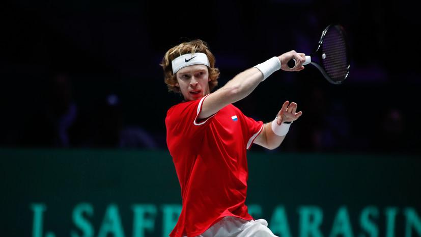 Кафельников считает, что два титула Рублёва могут хорошо повлиять на него перед Australian Open