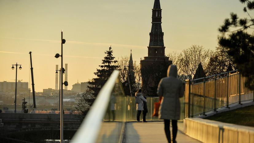 В Москве 19 января ожидается до +1 °С