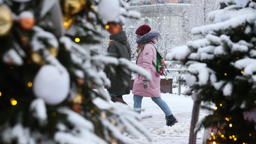 В Гидрометцентре прогнозируют снег 22 января в Москве