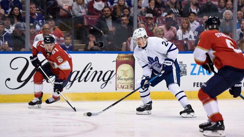 «Флорида» обыграла «Детройт» в НХЛ, Дадонов забросил одну шайбу