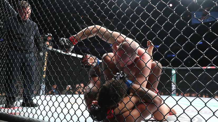 Экс-чемпион UFC Вердум вызвал на бой российского бойца Олейника