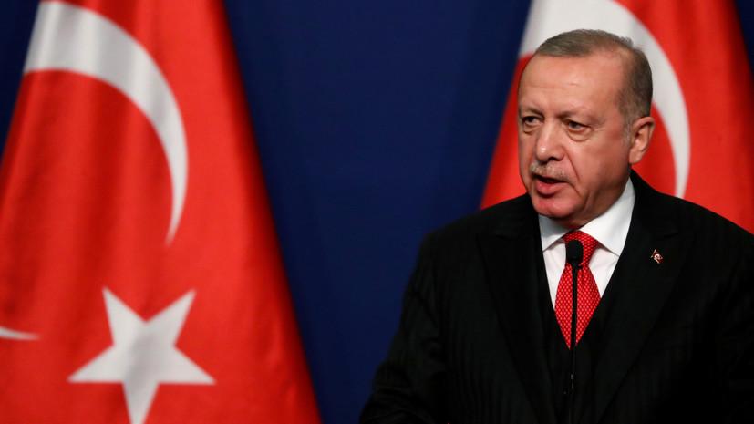 Эрдоган оценил возможность принятия коммюнике после встречи по Ливии