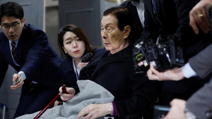 Умер основатель Lotte Group Син Гёк Хо