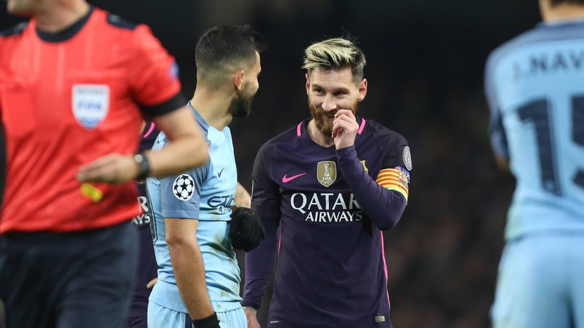 СМИ: Месси порекомендовал «Барселоне» купить Агуэро