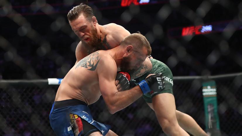 Боец UFC Диас обвинил Макгрегора и Серроне в постановочном поединке