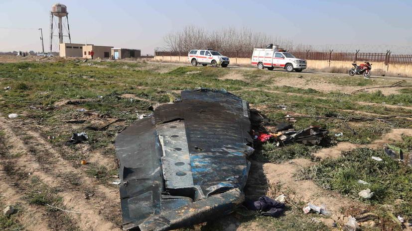 В Киеве пообещаливыяснить все обстоятельства крушения Boeing в Иране