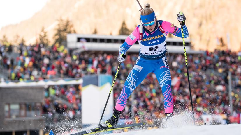 Биатлонистка Резцова: лыжи работали великолепно, а за стрельбу буду очень долго себя ругать