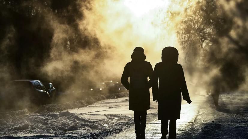 Синоптики предупредили о морозах до -31 ˚С в Омской области