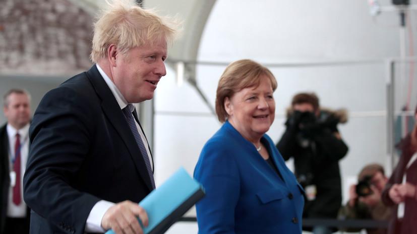 Джонсон призвал страны к невмешательству в ливийский кризис