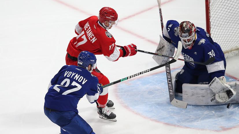 Команда дивизиона Боброва победила сборную дивизиона Чернышёва на Матче звёзд КХЛ