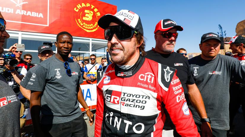 Алонсо заявил, что раздумывает над возвращением в «Формулу-1»