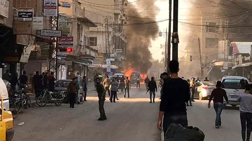 В Сирииоколо 100 человек погибли при атаках боевиков с 16 января