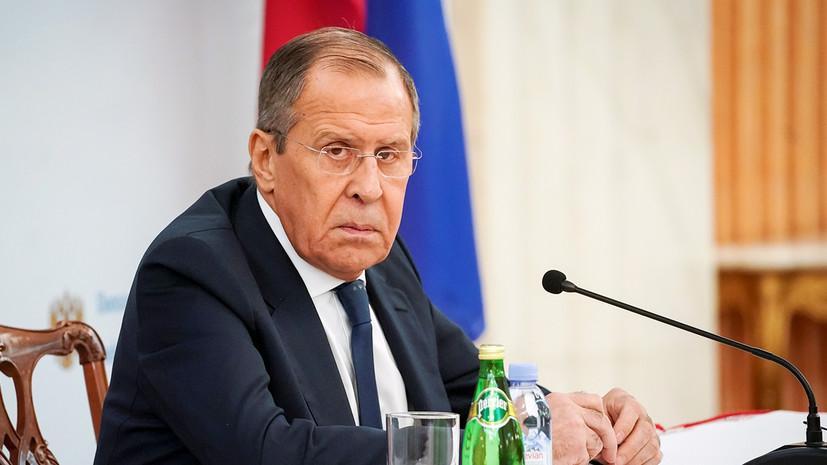 Лавров назвал задачи военного комитета по урегулированию в Ливии