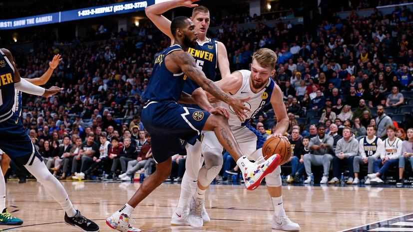 Трипл-дабл Сабониса помог «Индиане» победить «Денвер» и одержать пятую победу подряд в НБА