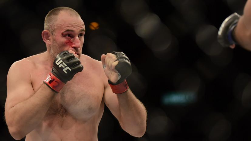 Боец UFC Олейник рассказал, на каких условиях проведёт бой с Вердумом