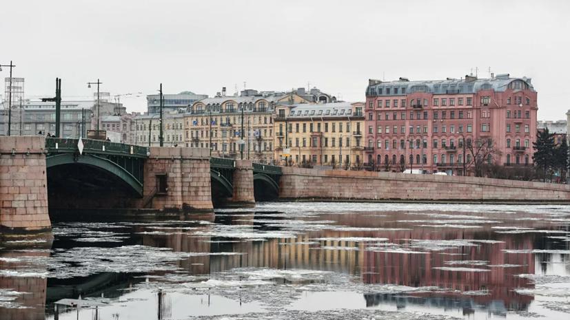 В Петербурге из-за непогоды частично закрыли дамбу