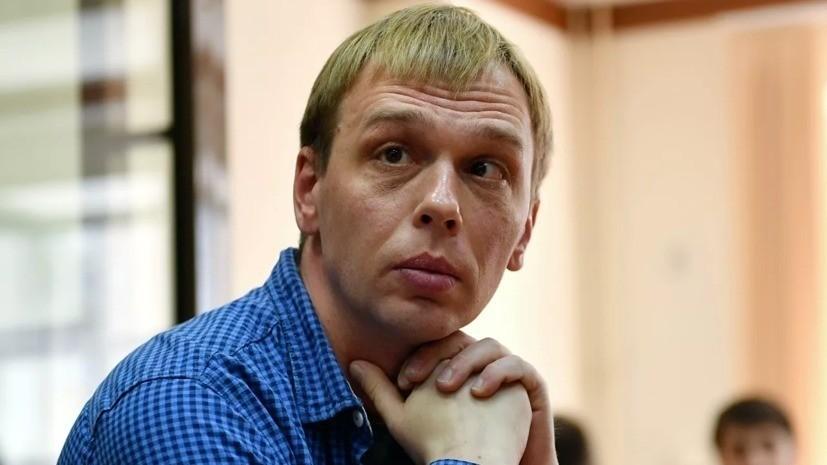 Голунова допросили по делу о превышении полномочий полицией