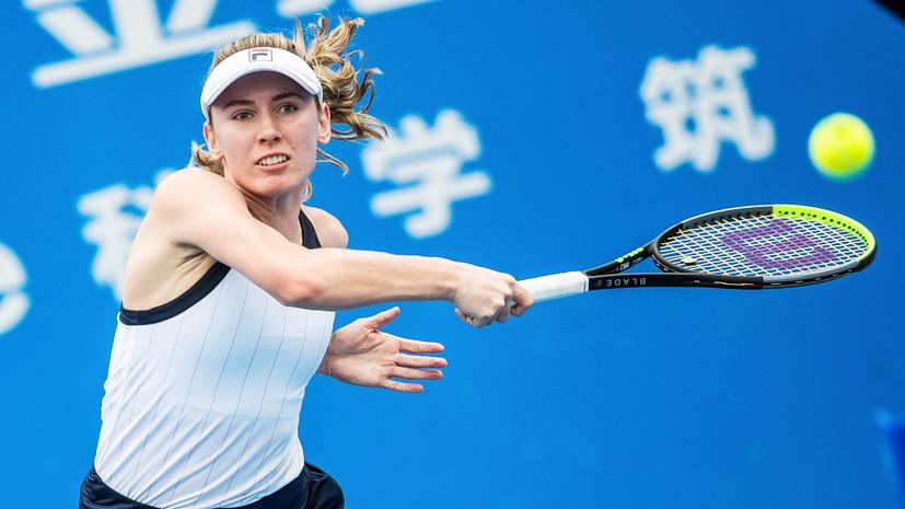 Александрова призналась, что начала паниковать во втором сете стартового матча Australian Open
