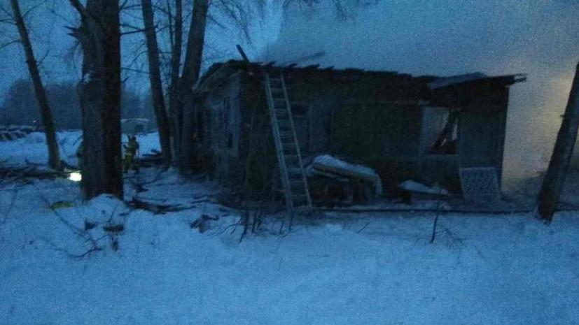Число погибших при пожаре в Томской области достигло девяти