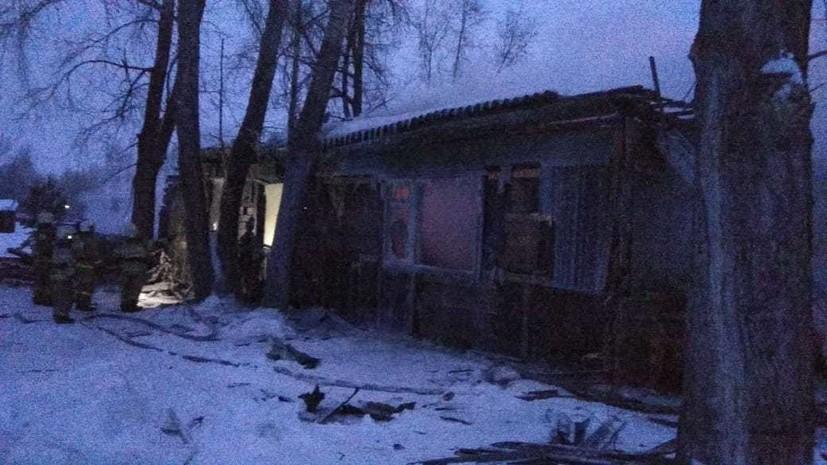 При пожаре в Томской области погибли 11 человек