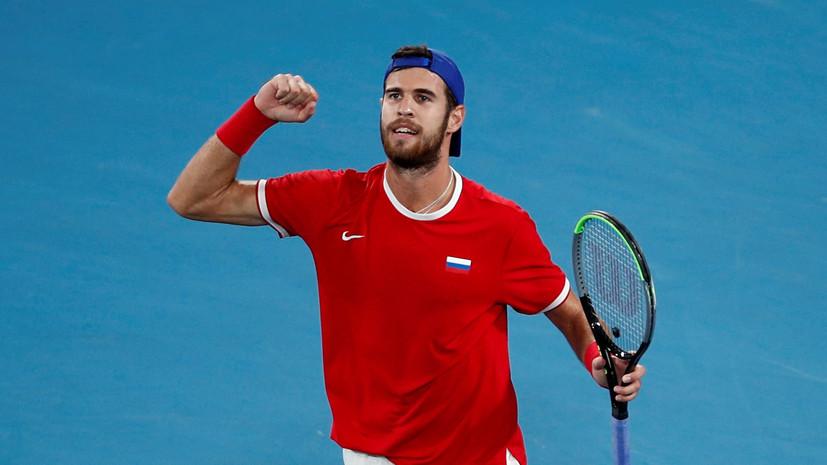 Хачанов вышел во второй круг Australian Open