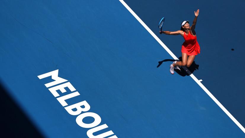 Шарапова об игре с Векич на старте Australian Open: я старалась