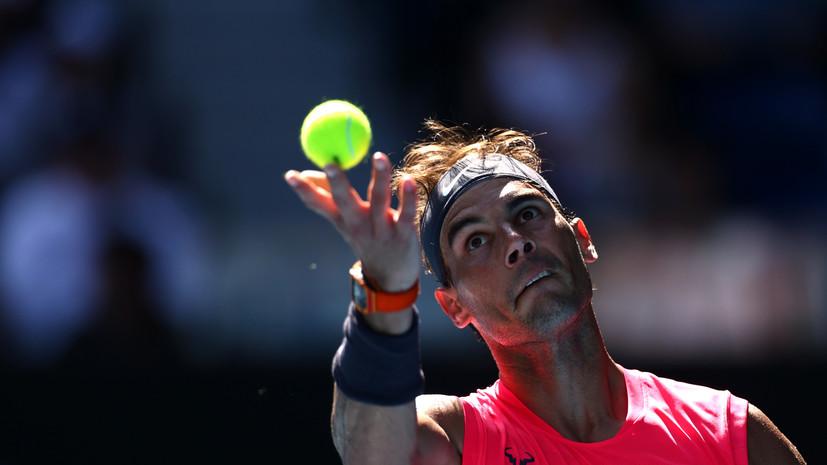 Надаль стартовал с победы на Australian Open — 2020