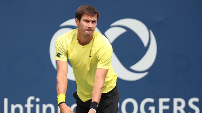 Донской проиграл Вердаско в первом круге Australian Open