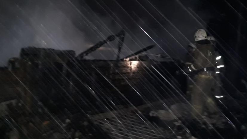 Центральный аппарат СК проконтролирует дело о пожаре в Томской области
