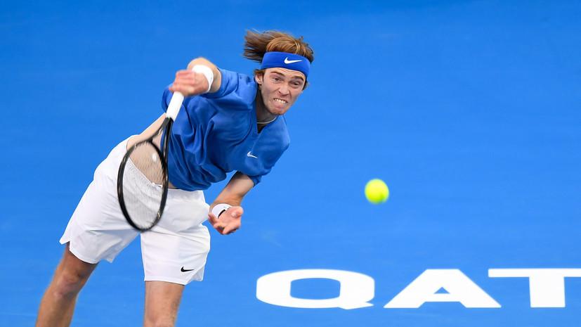 Рублёв победил О'Коннелла в первом круге Australian Open