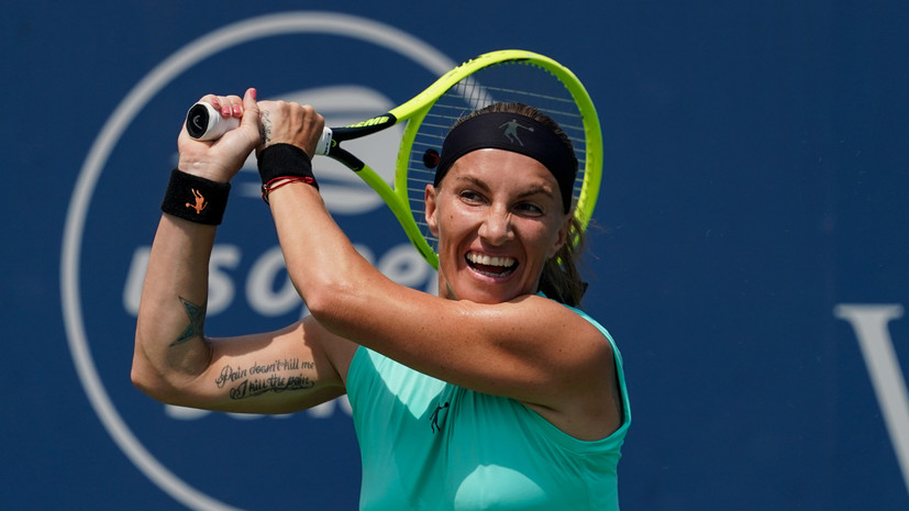 Кузнецова стартовала на Australian Open с победы над Вондроушовой