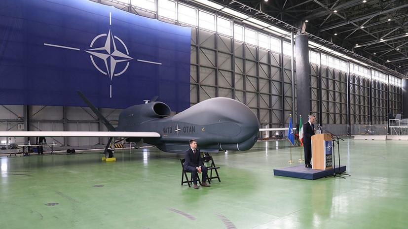 Ястребиный пролёт: как НАТО намеревается следить за Россией с помощью новейших американских беспилотников