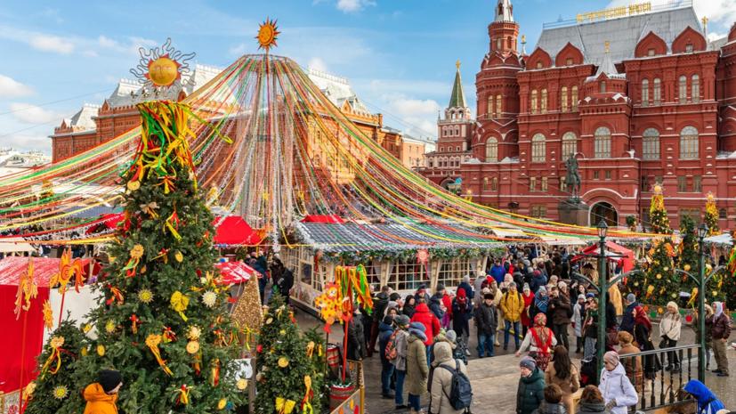 Фестиваль «Московская Масленица» пройдёт с 21 февраля по 1 марта