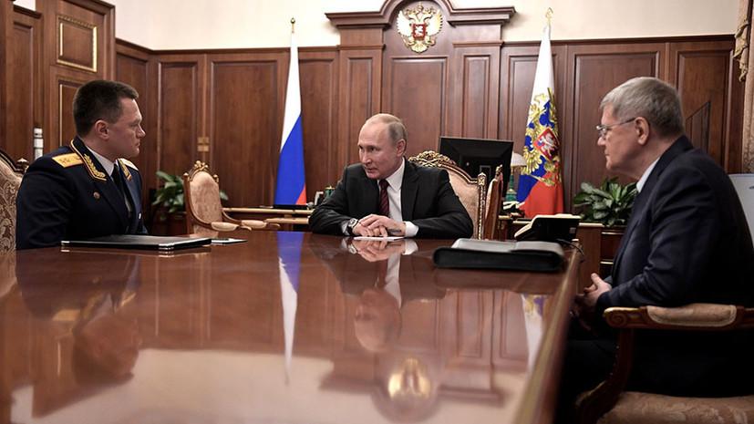 Путин предложил Чайке стать полпредом президента в СКФО