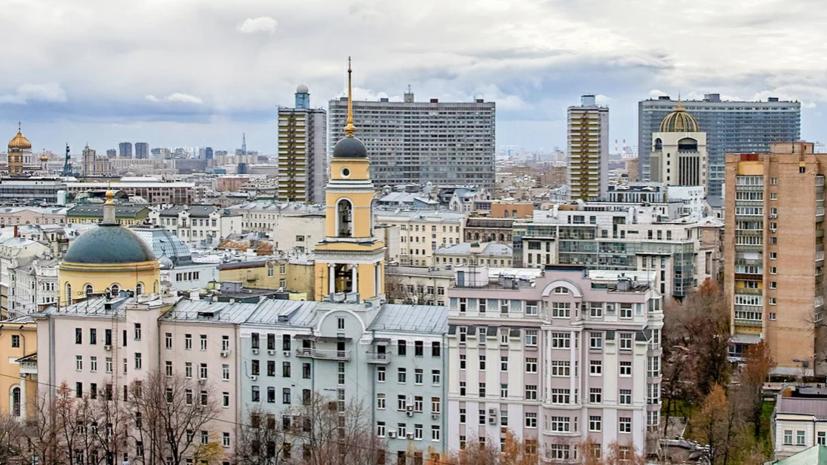 В Москве побит погодныйрекорд 63-летней давности