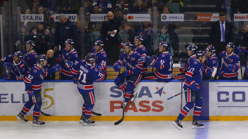 ЦСКА победил СКА в Москве, дважды уступая по ходу матча КХЛ