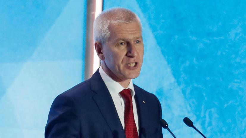 Матыцин назвал работу на посту министра спорта России большой честью