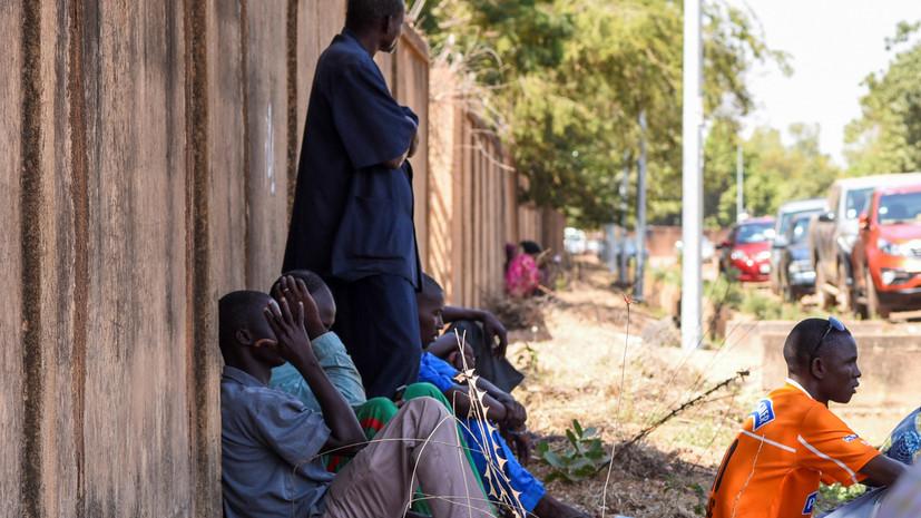 В результате теракта в Буркина-Фасо погибли 36 человек